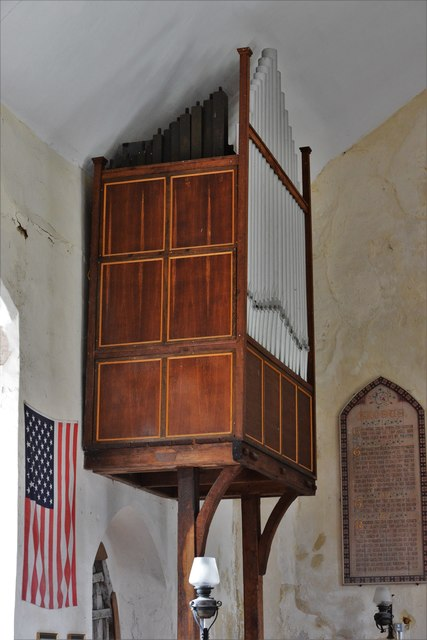 Seething, St. Margaret and St. Remigius Church: The organ