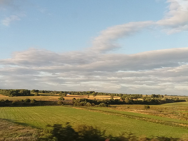 Railway near Ferryhill