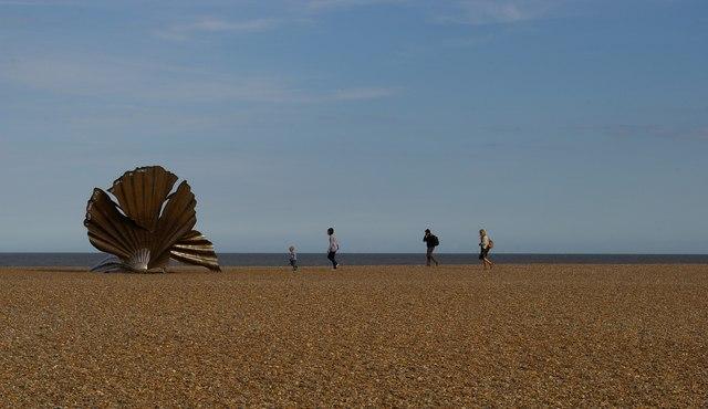 """The Scallop"", Aldeburgh beach"