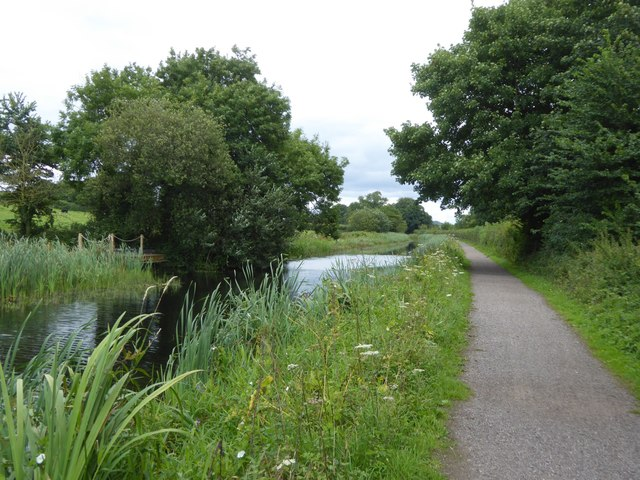Canal at Ayshford