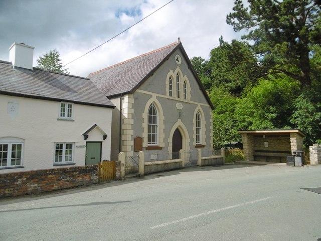 Dolywern, chapel