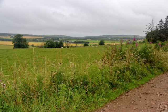 Fields at Balbithan