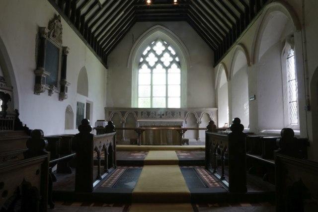 Chancel in St Bartholomew