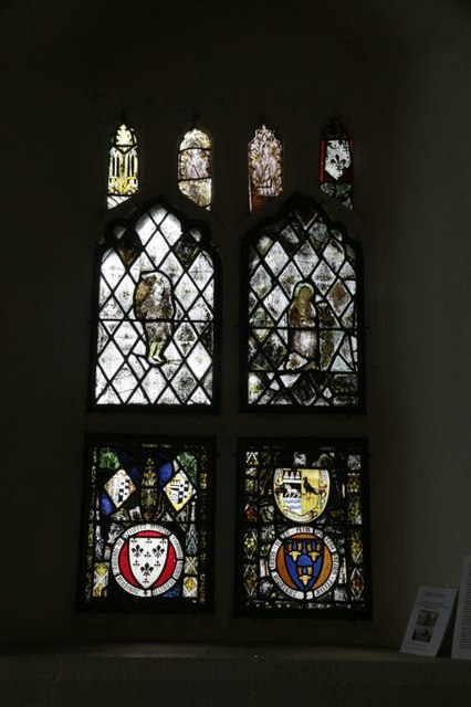 Stained glass in the Chancel