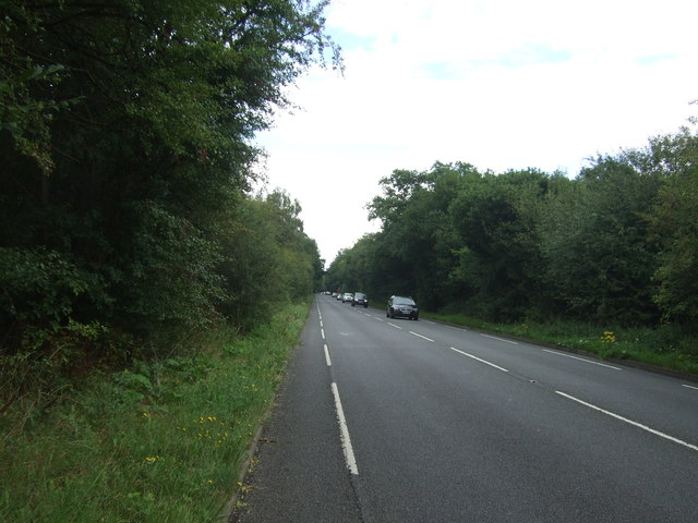 A104 towards Epping