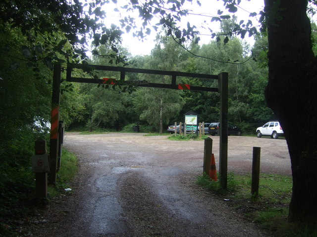 Car park, Epping Forest