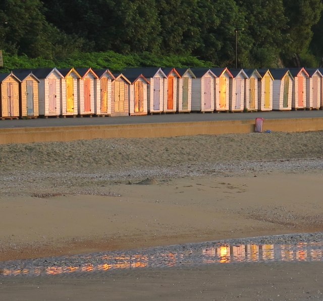 Beach huts, Shanklin, Isle of Wight