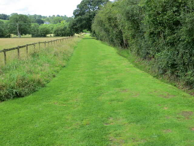 Enclosed Footpath and Bridleway from Hill Top to Pye Lane