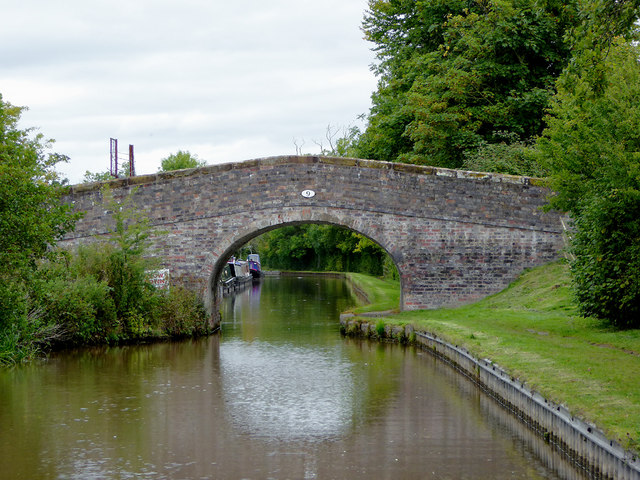 Butcher's Bridge south of Burland in Cheshire
