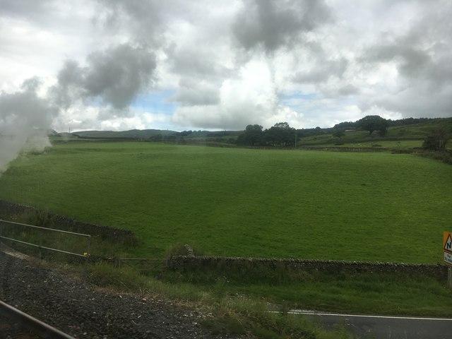 Field beside the railway