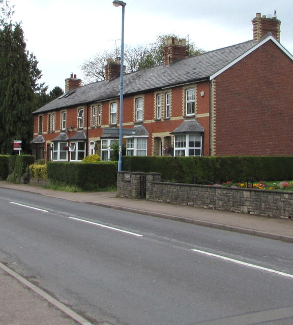 Row of houses, Hereford Road, Mardy