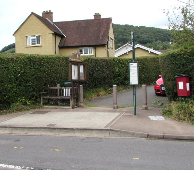 Southeast end of Poplars Road, Mardy