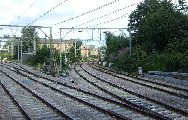 Railway junction, Manor Park