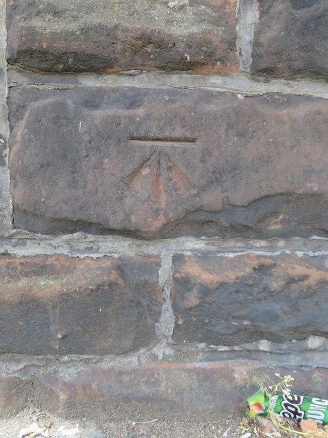 Bench mark in Stanley Road, Kirkdale
