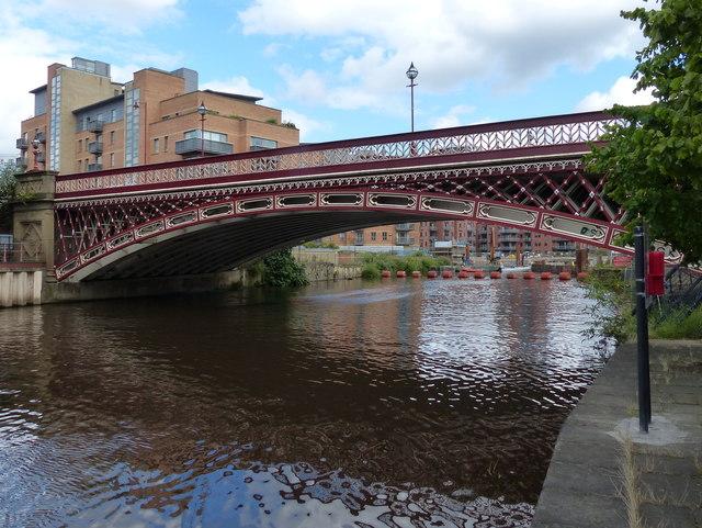 Crown Point Bridge in Leeds