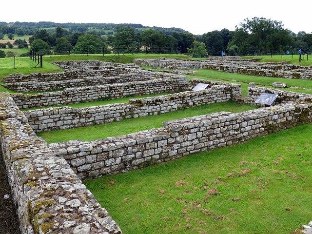 Barracks, Chesters Roman Fort