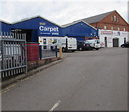 SO8555 : That Carpet Place, Worcester by Jaggery