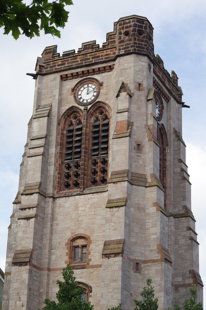 St Paul's Church Tower, Colwyn Bay