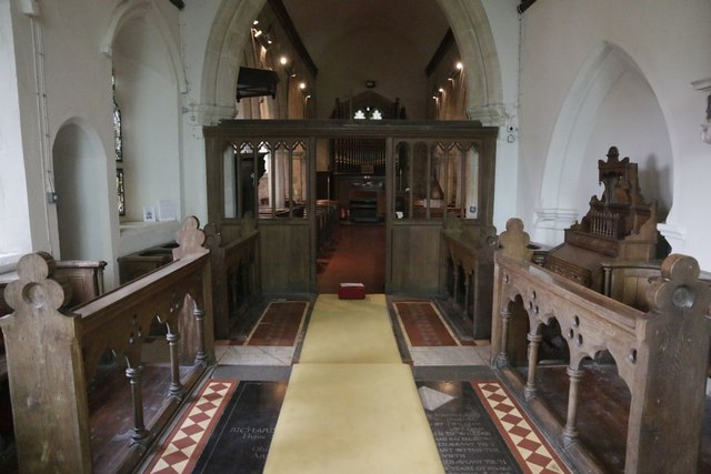 View to the Rood Screen