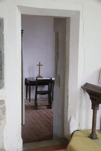 Doorway to the Vestry