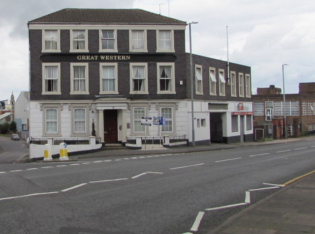 Great Western on a Worcester corner