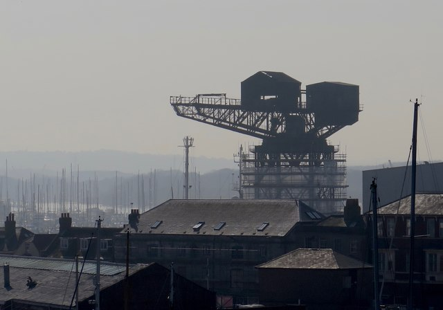 Hammerhead Crane, Cowes, Isle of Wight