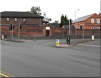 SO8555 : Junction at the eastern end of Tallow Hill, Worcester by Jaggery
