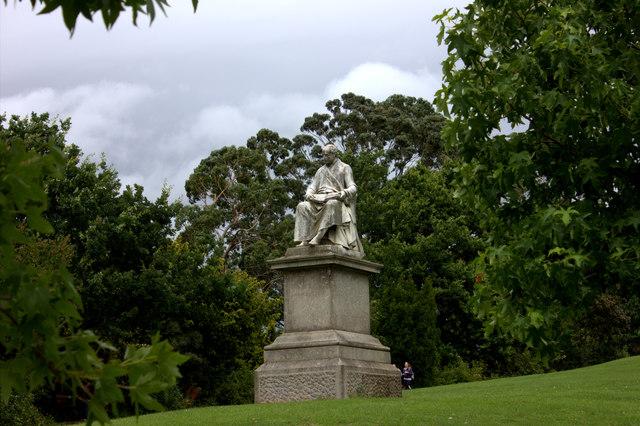 Sir John Dinham, Northernhay Gardens, Exeter