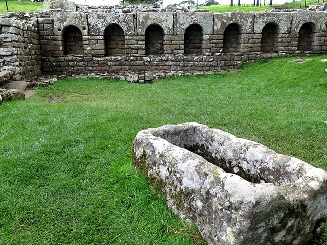 Bath House, Chesters Roman Fort