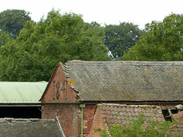 Barn detail, Boyah Grange Farm