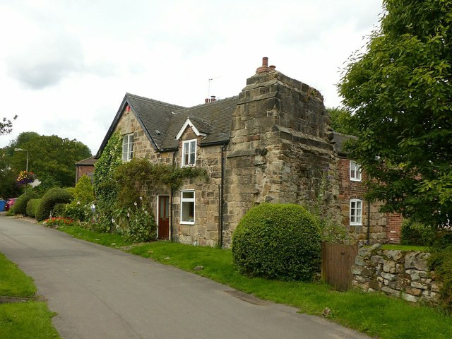 Manor House and Abbey House, Dale Abbey