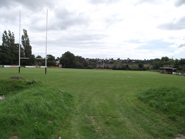 Withycombe Rugby pitch