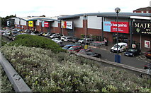 SO8555 : Shrub Hill Retail Park, Worcester by Jaggery