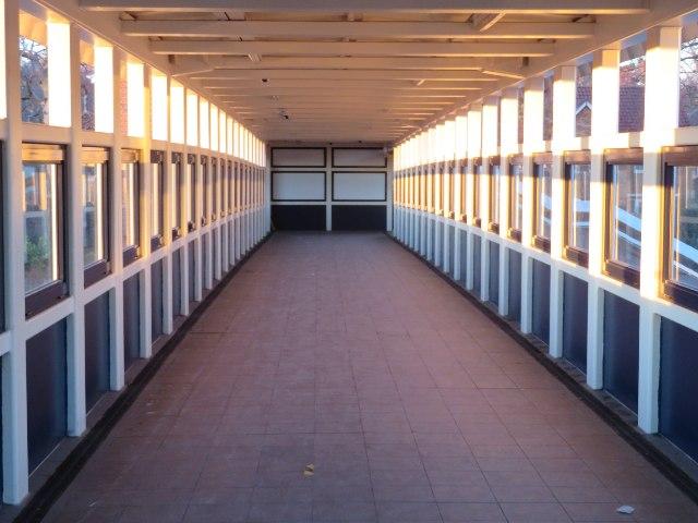 Farnborough station footbridge