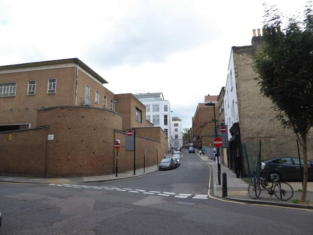Junction of Warner Street and Eyre Street Hill