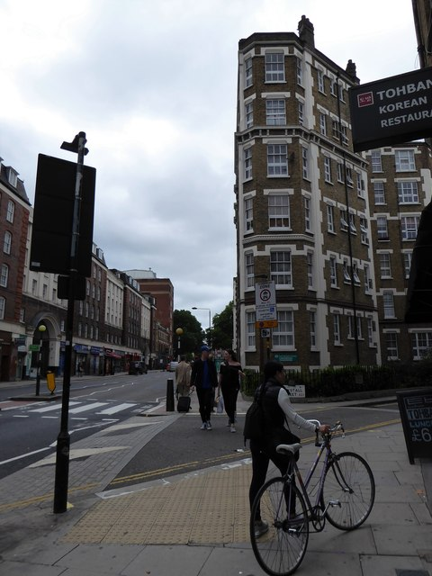 Junction of Clerkenwell Road and Laystall Street