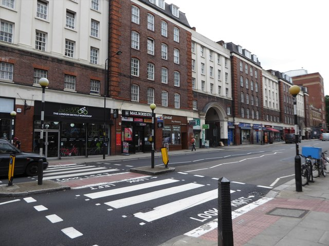 Zebra crossing in Clerkenwell Road