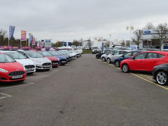 Ford dealership - Basingstoke