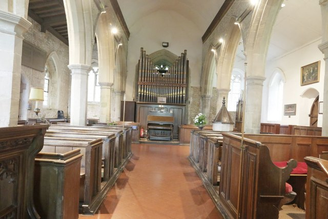 View to the organ
