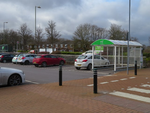 Asda car park - Brighton Hill