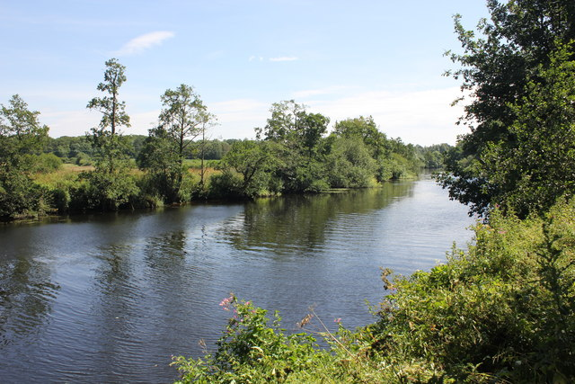 The River Dee near Eaton Hall