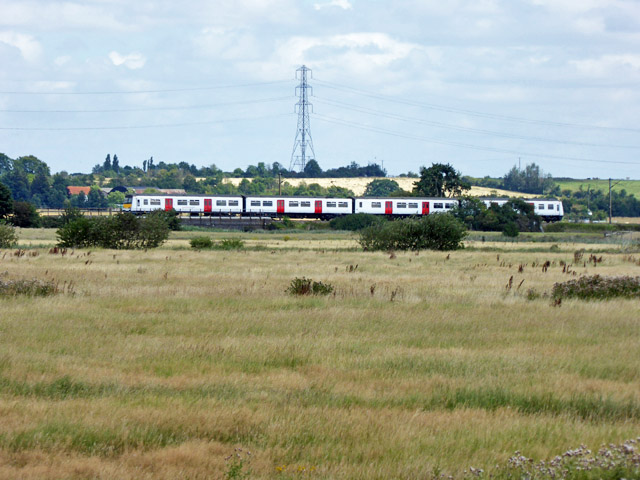 Train on Southminster branch