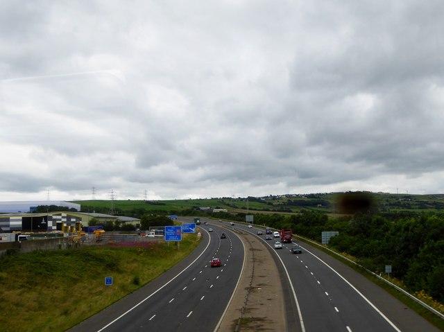 M65 in Darwen