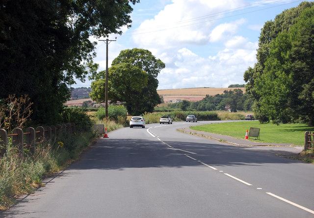 A377 near Codshead Bridge