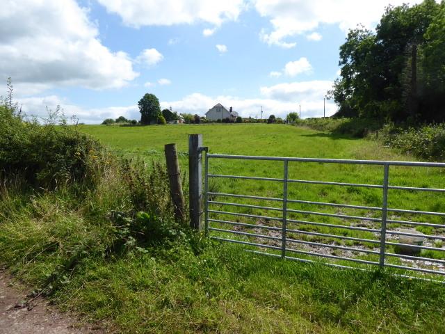 Gate, Tattyreagh Glebe