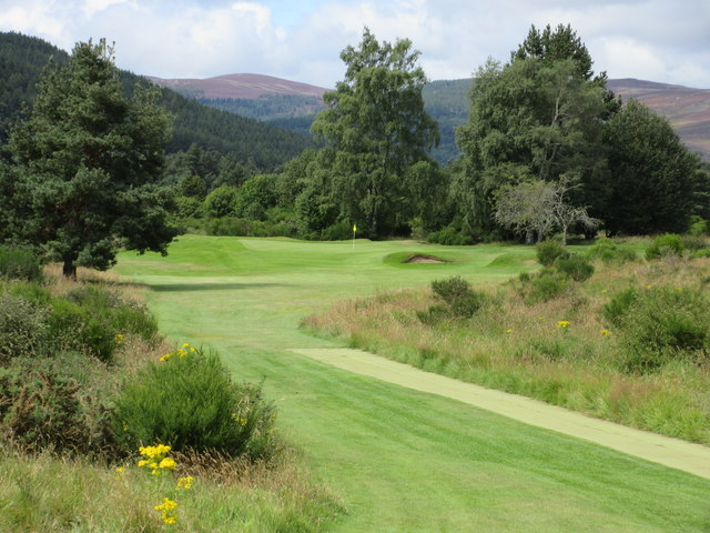 Ballater Golf Course, 5th hole, Glengairn