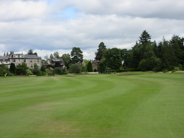 Ballater Golf Course, 7th hole, Lang Stracht