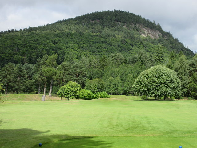Ballater Golf Course, 9th hole, Larick