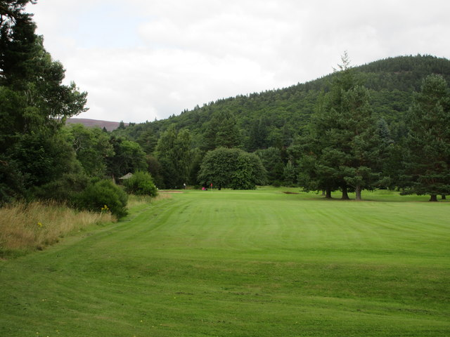 Ballater Golf Course, 13th hole, The Dee