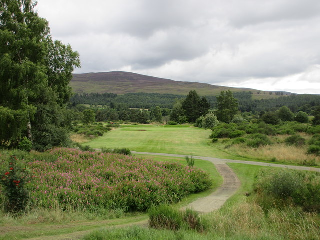 Ballater Golf Course, 17th hole, Brockie's Pond